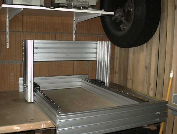 modelltechnik jung cnc portal fr sanlage. Black Bedroom Furniture Sets. Home Design Ideas